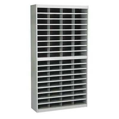 SAFCO 9241GRR Organizer,72 Section,Letter,Gray