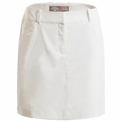 New Callaway Ladies Woven Skort Golf Skirt With Shorts