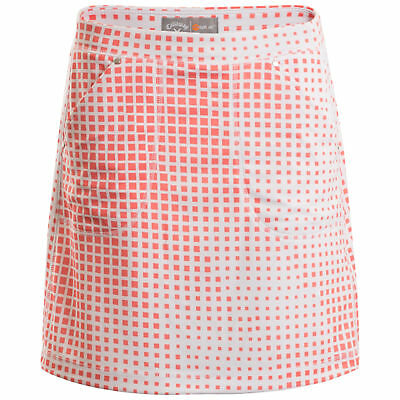 New Callaway Ladies Knit Skort Golf Skirt With Shorts