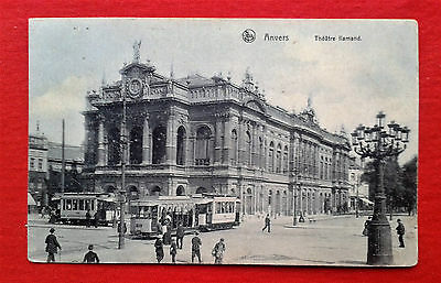 CPA Anvers Théâtre flamand