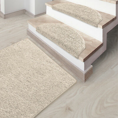 shaggy runner mat thick pile rug luxury soft hallway bedroom carpet long soft