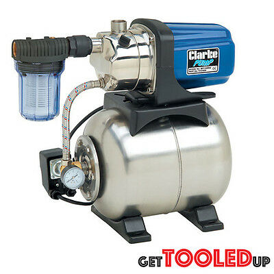 Clarke BPT1200SS 1? Stainless Steel Booster Pump