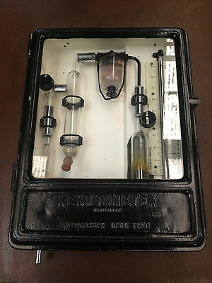 Vintage Industrial Kenotometer Newcastle Upon Tyne