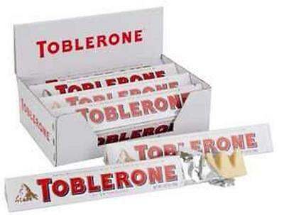 20 x Toblerone White Chocolate 100g