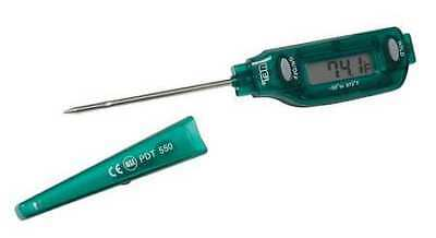 "Digital Pocket Thermometer,LCD,3-1/4"" L"