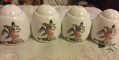 Lot Of 4 Salt Shakers