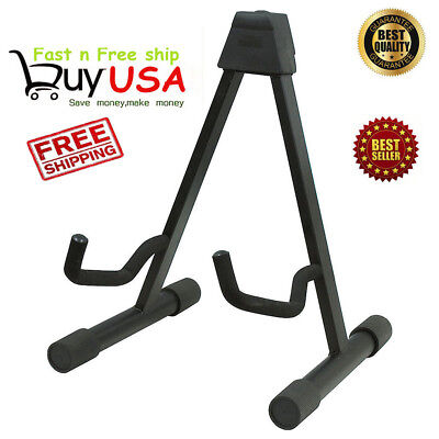 1pc High Quality Musician's Gear A-Frame Acoustic Guitar Stand Black HS