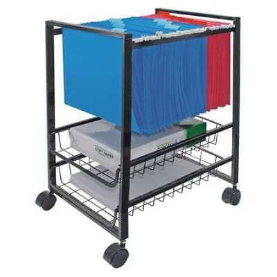 ADVANTUS 34075 Mobile File Cart with Sliding Baskets