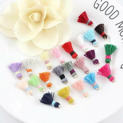 Mini Cotton tassel Earring Handmade weave DIY Bracelet jewelry accessories 1.5cm