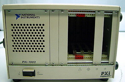 National Instruments PXI-1002 745749-01 NI CompactPCI PXI 4-Slot Chassis,