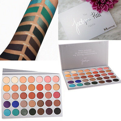 UK  BRAND PRO Morphe x Jaclyn Hill Palette Eyeshadow Highlighting Powder Beauty