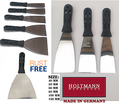 Stainless Steel Jointing / Taping Knife / Putty Joint Knife Various Sizes German