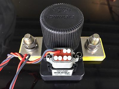 Gigavac GX16BE Contactor / Battery Switch 600+ Volts 12v w/Connector