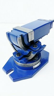 Amadeal 2-way Tilt & Swivel Milling Vice 50mm Jaws