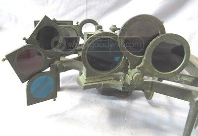 Antique 19th Century H. Hughes Sextant with Original Case London
