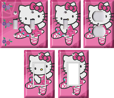 Hello Kitty 2 - Light Switch Covers Home Decor Outlet