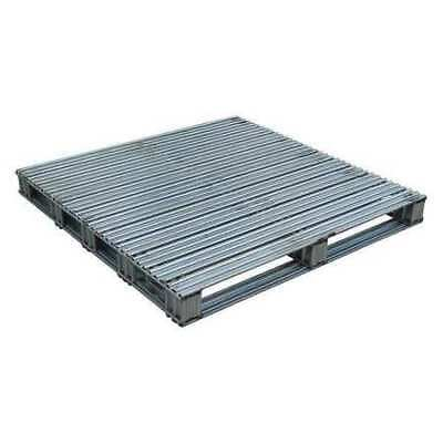 VESTIL SPL-4848 Galvanized Finished Steel Pallet