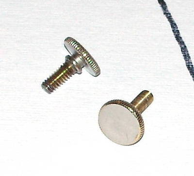 Lyre Box Screw for Besson Instruments - Silver Plated Finish