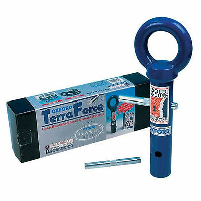 New Oxford Motorcycle Terra Force Steel Security Floor Ground Locking Anchor Pin