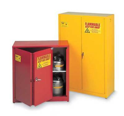 EAGLE 1930 RED Flammable Safety Cabinet,30 Gal.,Red G9813727