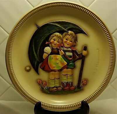 Stormy Weather 1975 Hummel Anniversary Plate