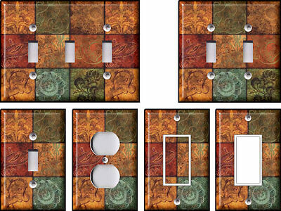 Tuscan Patchwork - Light Switch Covers Home Decor Outlet