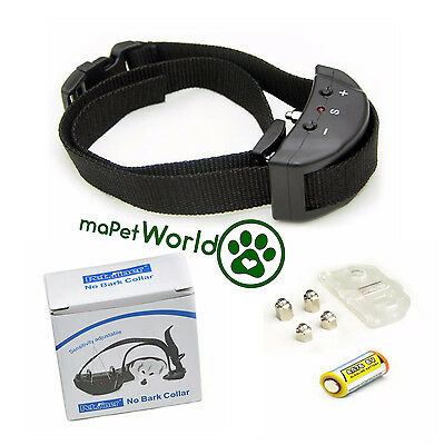 No Bark Collar - Safe Electric Anti Barking Collars with Auto Smart Shocking