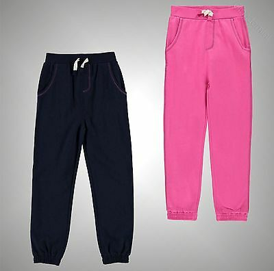 New Kids Girls Crafted Jogging Bottoms Table Joggers Sweat Pants Size Age 3-12