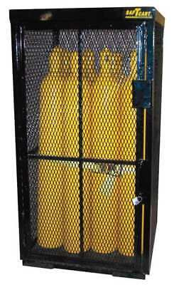 SAFTCART Security Cage Gas Cylinder Cabinet,42x39,Capacity 16 G9859936