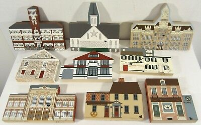 Lot 9 CATS' MEOW Wood Buildings Lancaster County PA Molly's Pub Stock Yard Inn +