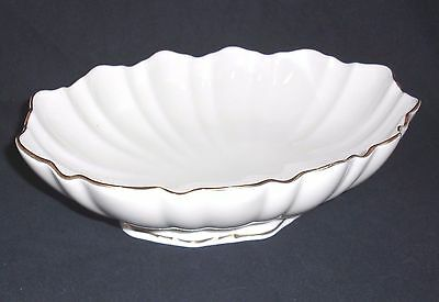 "Lennox Bowl with Gold Trim, 10-1/2"" by 7"", Made in U.S.A."