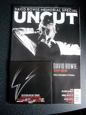 Uncut Magazine & CD March 2016 David Bowie Memorial Special (new) 2016