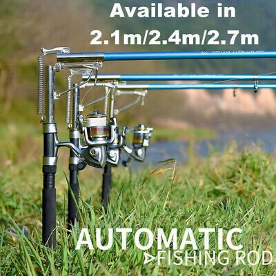 Automatic Telescopic Fishing Rod Sea River Lake Fishing Pole Device Spinning Rod