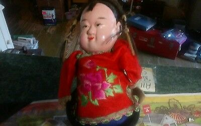 Vintage Chinese  doll