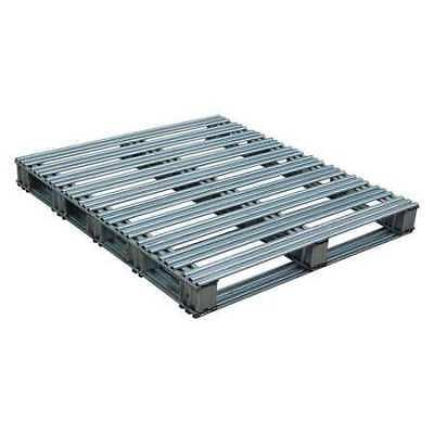 VESTIL SPL-4248 Galvanized Finished Steel Pallet