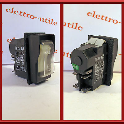 Interruttore bipolare di sicurezza a bascula Pole Switch Security KJD16 KEDU