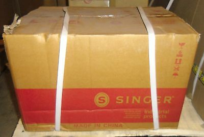 New Singer KC40H16-CE 1/2 HP 3450 RPM 110 Volt Industrial Sewing Clutch Motor