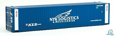 NYK Logistics 45' CIMC Container HO - Walthers SceneMaster #949-8557 vmf121