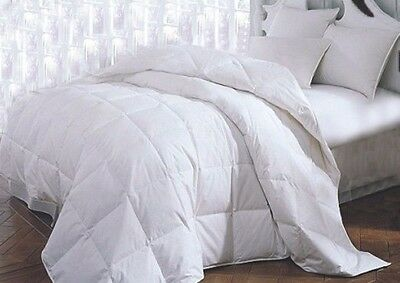 1PC-Cotton White Hotel Comforter Bedding Stitched Cover TWIN QUEEN KING 899