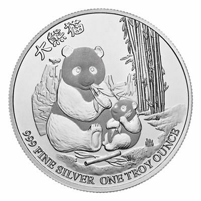 1 oz 2017 Niue Panda .999 Silver Coin (Hard to find)