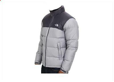The North Face Men Winter 700 Power Fill Down Jacket Coat L  XL Gray New