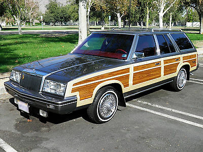 1982 Chrysler LeBaron  INCREDIBLY MINT 1982 Chrysler LeBaron Town & Country Woody Wagon! This is it.
