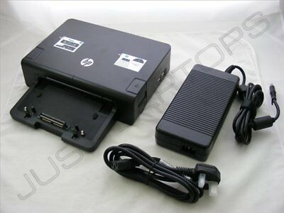 Neu HP Elitebook 8470p 8470w 8530p Docking Station Port Replikator + PSU A7E38AA