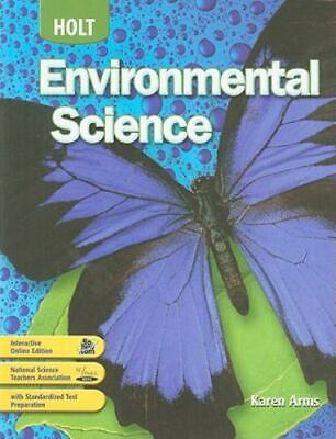 Holt Environmental Science: Student Edition 2008 (Hardcover)