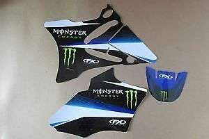 Yamaha YZ 85 2002 2003 2004 2005 2006 2007 Monster Sticker Kit Stickers Graphic