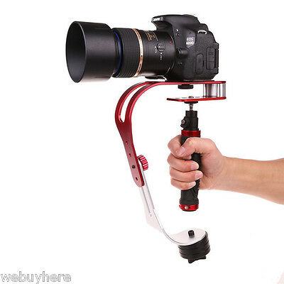 Craphy Aluminum Alloy Video Camera Handheld Stabilizer for Cameras up to 1.5kg