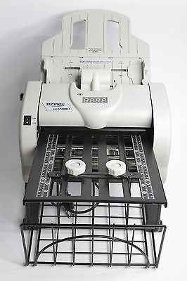 Techko Letter Paper Folder Model LF286BCS - complete, working