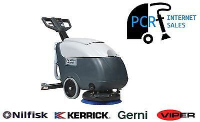 NILFISK SC400B Walk Behind Scrubber/Dryer Battery Powered