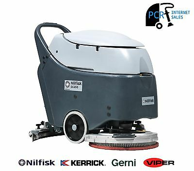 NILFISK SC450 Battery Powered Walk Behind Scrubber/Dryer