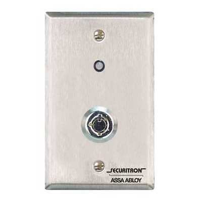 SECURITRON KP1A Tubular KeyswitchExit, Door Release, Manual Override/Reset